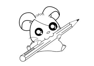 Cute Coloring Pages for Kids and Adults
